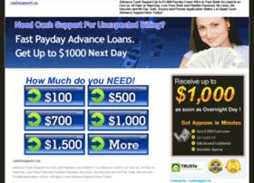 Cashsupport.us thumbnail