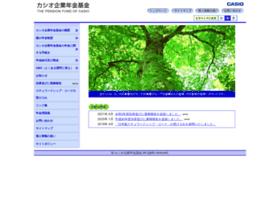 Casio-nenkin.or.jp thumbnail