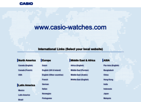 Casio-watches.com thumbnail