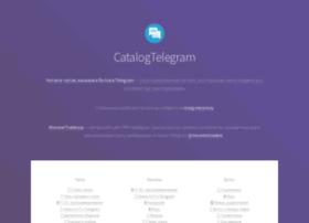 Catalog-telegram.ru thumbnail