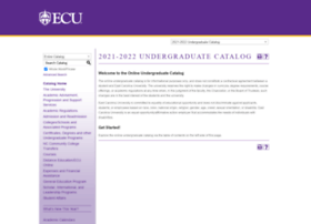Catalog.ecu.edu thumbnail