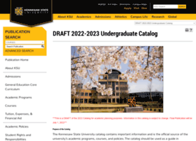 Catalog.kennesaw.edu thumbnail