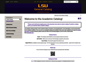 Catalog.lsu.edu thumbnail