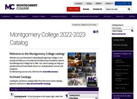 Catalog.montgomerycollege.edu thumbnail