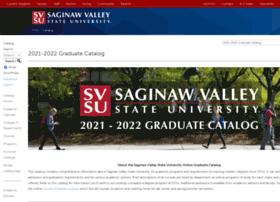 Catalog.svsu.edu thumbnail