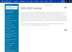 Catalog.unca.edu thumbnail