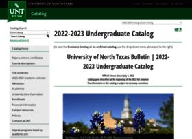 Catalog.unt.edu thumbnail