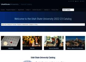 Catalog.usu.edu thumbnail