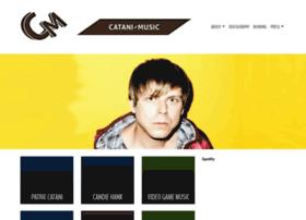 Catani-music.de thumbnail
