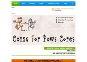 Causeforpawscares.org thumbnail