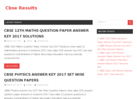 Cbse-results-nic-in.in thumbnail