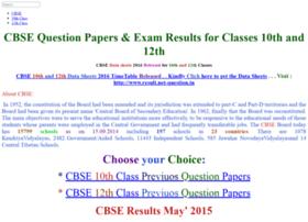 Cbse.net-question.in thumbnail
