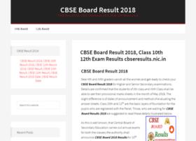Cbseboardresult2018.com thumbnail