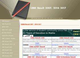 Cbseresult2007.com thumbnail