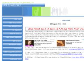 Cbseresult2013.com thumbnail