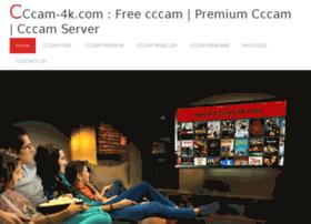 Cccam-4k.com thumbnail