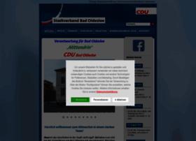 Cdu-bad-oldesloe.de thumbnail