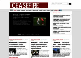 Ceasefiremagazine.co.uk thumbnail