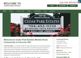 Cedarparkestates.net thumbnail