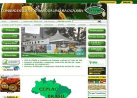 Ceplac.gov.br thumbnail