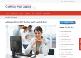 Certifiedmaillabels.com thumbnail