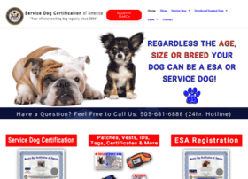 Printable service dog certificate at website informer for Service animal certificate template