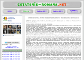 Cetatenie-romana.net thumbnail