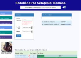 Cetatenie.org thumbnail
