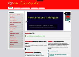 Cgt-gironde.org thumbnail