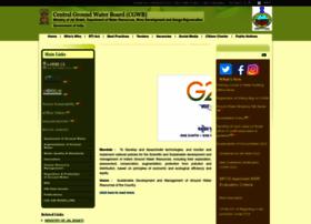 Cgwb.gov.in thumbnail