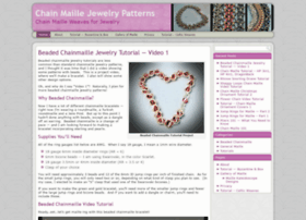 Chainmaillejewelrypatterns.com thumbnail