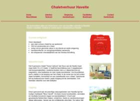 Chaletverhuurhavelte.nl thumbnail
