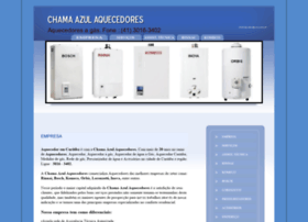 Chamaazulaquecedores.com.br thumbnail