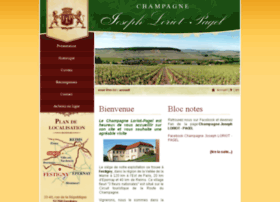 Champagne-loriot-pagel.fr thumbnail