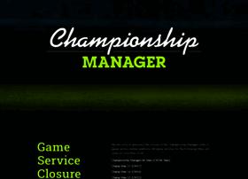 Championshipmanager.co.uk thumbnail