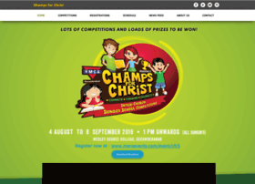 Champsforchrist.in thumbnail