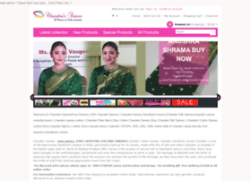 Chanderisarees.co.in thumbnail