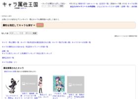 Chara-zokusei.jp thumbnail