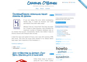 Charlesobrien.net thumbnail