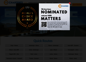 Charteredbus In At Wi Welcome To Chartered Speed Pvt Ltd