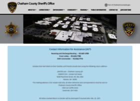 Chathamsheriff.org thumbnail