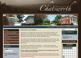 Chatsworthga.gov thumbnail