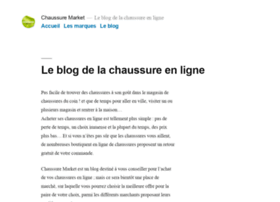 Chaussure-market.fr thumbnail