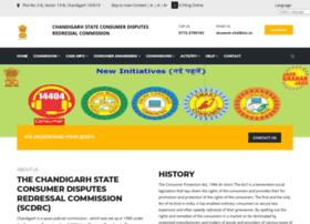 Chdconsumercourt.gov.in thumbnail