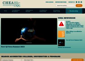 Chea.org thumbnail