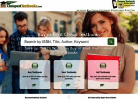 Cheapesttextbooks.com thumbnail