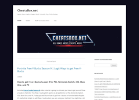 Cheatsbox.net thumbnail
