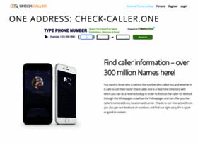 Check-caller.one thumbnail