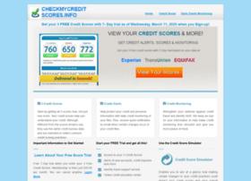 Checkmycreditscores.info thumbnail