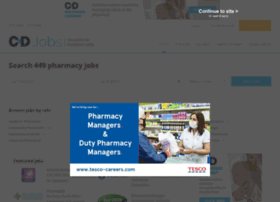 Chemistanddruggistjobs.co.uk thumbnail